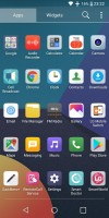 Launcher: the app drawer - LG Q6 Review