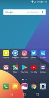 Homescreen - LG Q6 preview