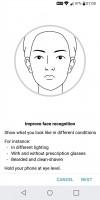 Face Unlock - LG Q6 preview
