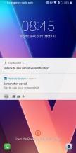 Lockscreen - LG V30 review