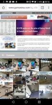 Launching split screen - LG V30 review