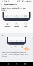 Navigation bar customization - LG V30 review