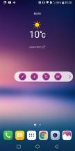 Floating bar - LG V30 review
