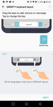 Customizing the keys - LG V30 review