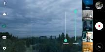Cine video mode - LG V30 review