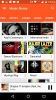 Google Play Music is built around music streaming - Motorola Moto M review