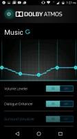 Dolby Atmos equalizer - Motorola Moto M review