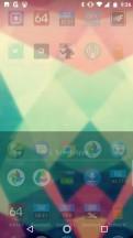 Swipe up for the app-drawer - Motorola Moto X4 review
