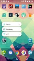Long-press shortcuts - Motorola Moto X4 review