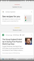 Google Feed - Motorola Moto X4 review