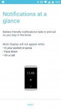 Moto Display - Motorola Moto X4 review