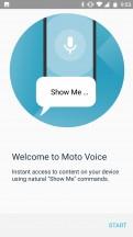 Moto Voice - Motorola Moto X4 review