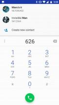 Dialer: Smart dial - Motorola Moto X4 review