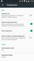 Gboard - Motorola Moto X4 review