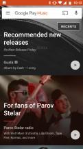 Google Play Music - Motorola Moto X4 review