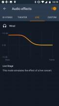 Equalizer settings - Motorola Moto X4 review