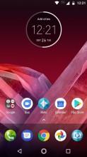 Home screen 1 - Motorola Moto Z2 Play review