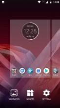 Launcher settings - Motorola Moto Z2 Play review