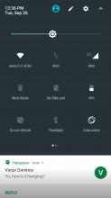 Quick settings - Motorola Moto Z2 Play review