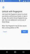 Setting up the fingerprint reader - Motorola Moto Z2 Play review