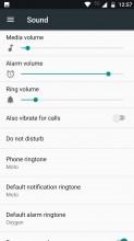 Sound settings - Motorola Moto Z2 Play review