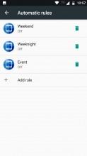 Do Not Disturb settings - Motorola Moto Z2 Play review