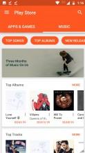Google Play Music cloud content - Motorola Moto Z2 Play review