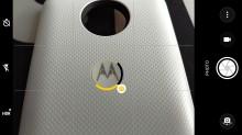 Camera interface - Motorola Moto Z2 Play review