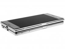 Xperia XZ Premium on top of the Xperia Z5 Premium - Sony Xperia XZ Premium hands-on