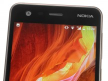 Nokia logo in the top bezel - Nokia 2 review