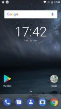 Home screen - Nokia 3 review