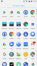 App drawer - Nokia 5 review