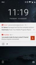 Lockscreen - Nokia 6 review