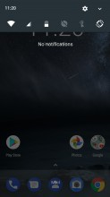 Notification shade - Nokia 6 review