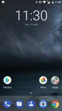 Home screen - Nokia 6 review