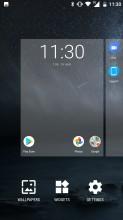 Homescreen editing - Nokia 6 review