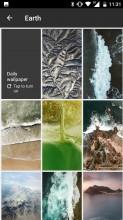 Google Wallpapers app - Nokia 6 review