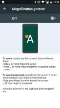 Gestures - Nokia 6 review