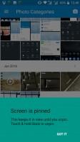Screen pinning - Nokia 6 review