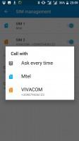 SIM card settings - Nokia 6 review