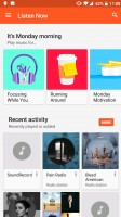 Google Play Music - OnePlus 5 review