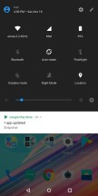 Notification shade - OnePlus 5T review