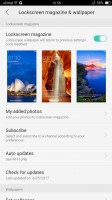 Lockscreen settings - Oppo F3 Plus review
