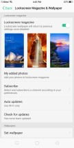Lockscreen settings - Oppo F5 review