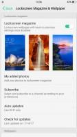 Lockscreen settings - Oppo R11 review