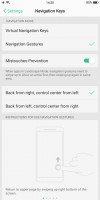 Navigation gestures - Oppo R11s review