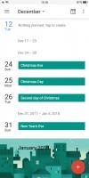 The Calendar app - Oppo R11s review