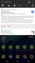 Standard notification shade - Razer Phone review