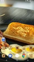 The infamous Razer toast theme - Razer Phone review