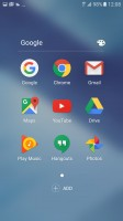 Folder view - Samsung Galaxy A5 (2017) review